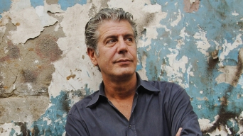 April 13th 2007, Cairo, Egypt. Picture shows: General portrait of Anthony Bourdain, Cairo, Egypt. Photo by Brendan Corr / Getty Images.